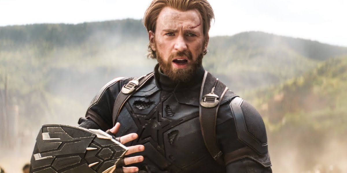 Captain America in Infinity War's final battle