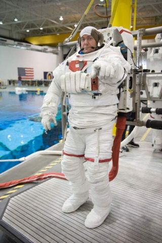 Astronauts Gear Up for First Spacewalk