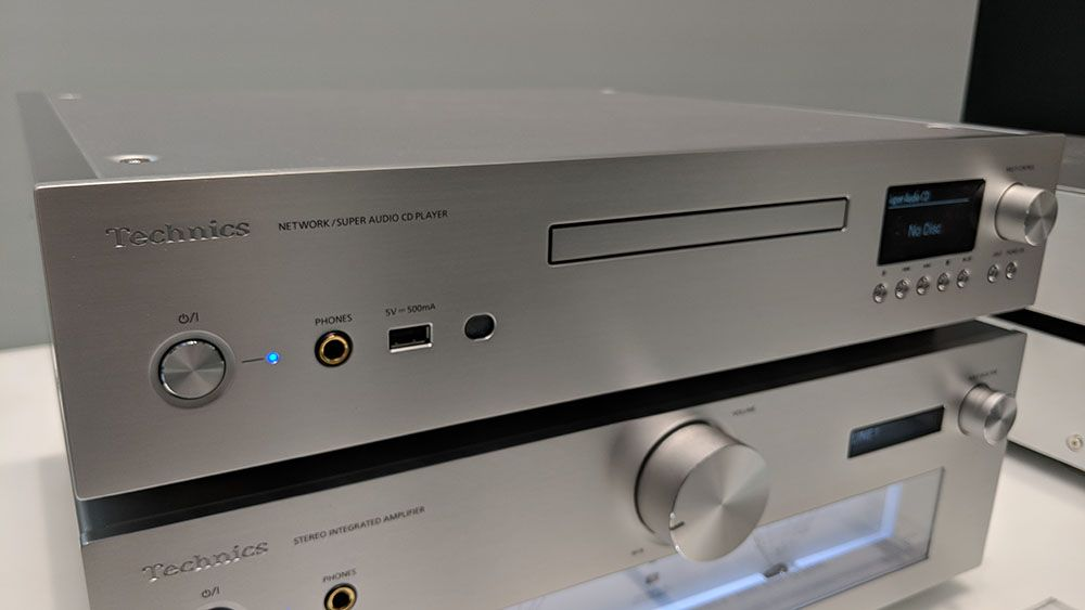 Technics reveals SL-G700 SACD player and network streamer