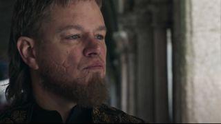 Matt Damon in the trailer for The Last Duel