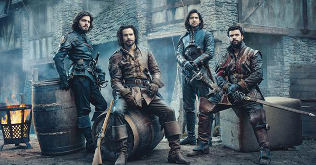 BBC1's The Musketeers