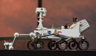 A toy model of NASA's Curiosity Mars rover, MSL.