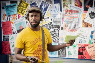 Lamorne Morris plays artist Keith Knight in Woke.