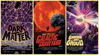 Celebrate Halloween the NASA way with these three Galaxy of Horrors posters for 2020.