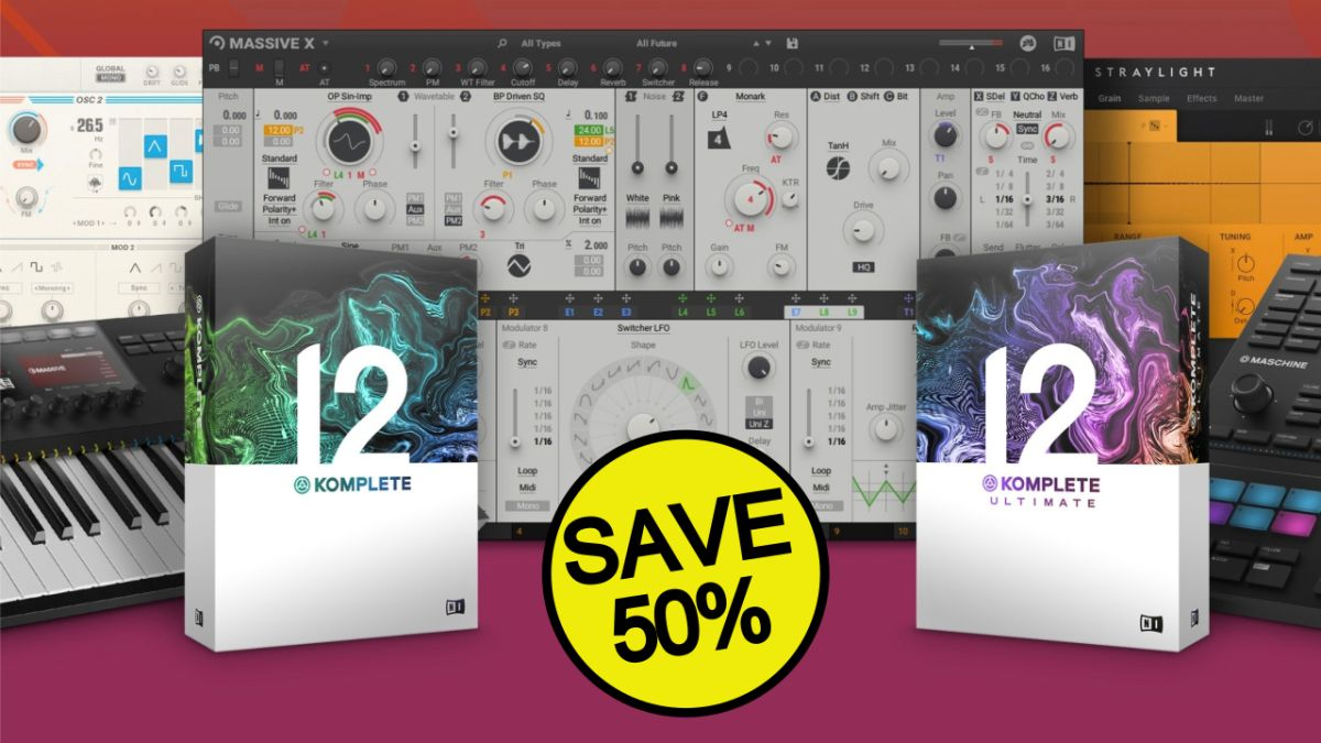 Native Instruments' massive 50% off sale is almost over – save big on Massive X, Traktor and more while you still can