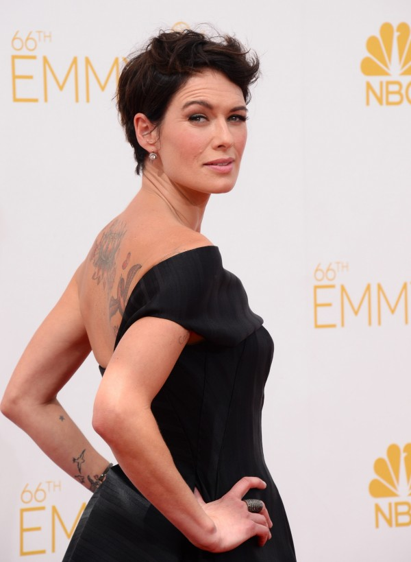 Lena Headey reveals some of her many tattoos