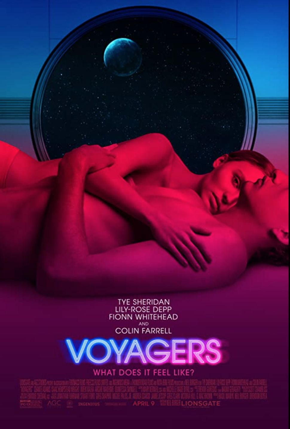 Panic and paranoia strike in 1st trailer for new sci-fi thriller 'Voyagers'