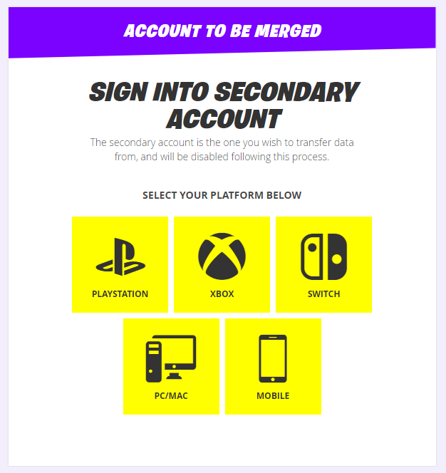 You Can Finally Merge Your Fortnite Accounts: Here's How | Tom's Guide