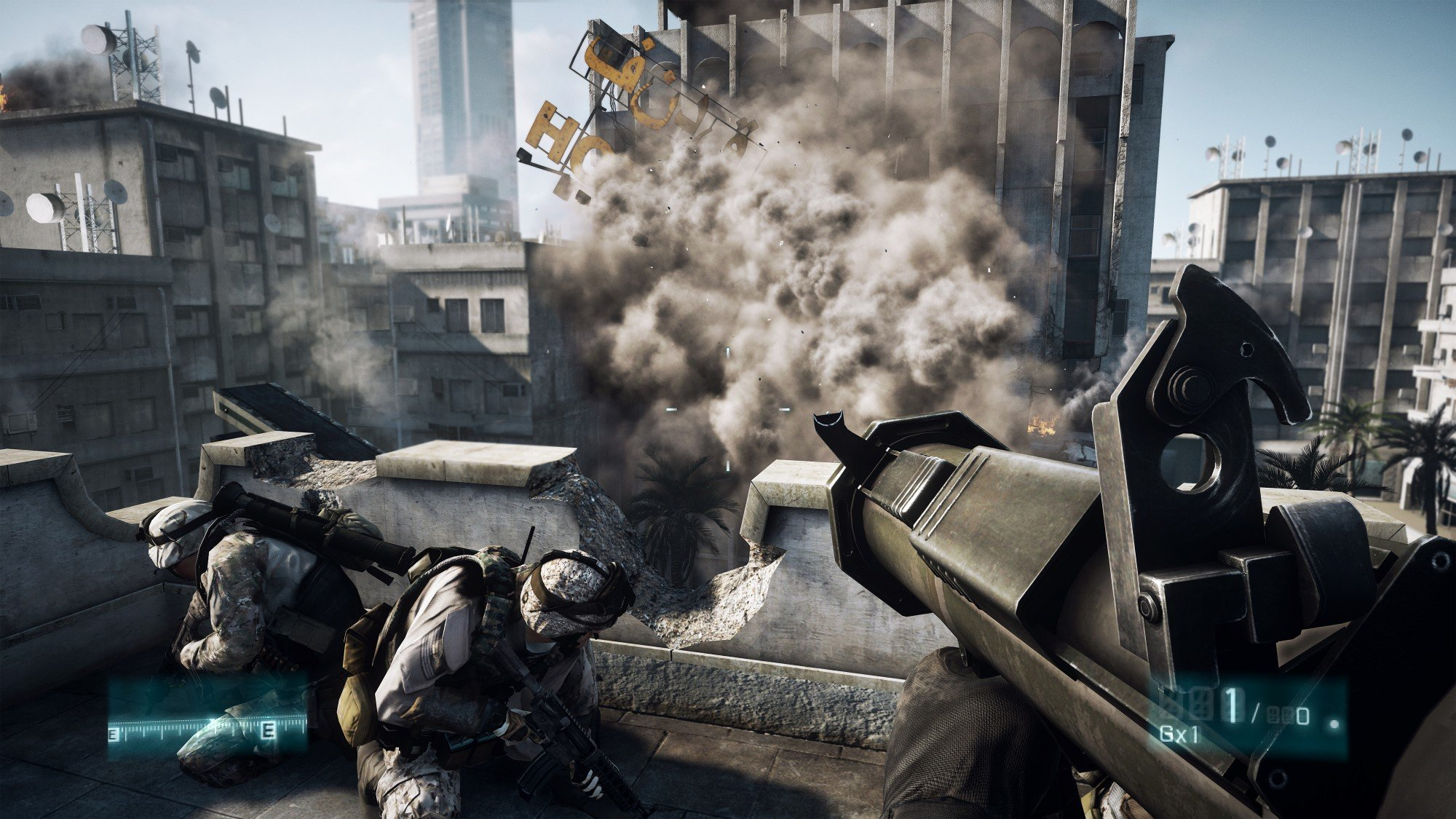 Battlefield 3 HD Concept Art And In-Game Screenshots Released #16616