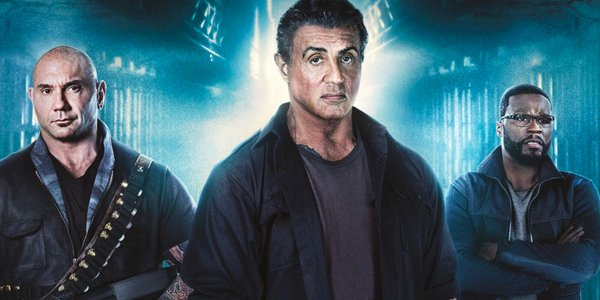 Escape Plan The Extractors stars Dave Bautista Sylvester Stallone Curtis 50 Cent Jackson