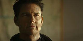 Tom Cruise as Maverick in Top Gun 2