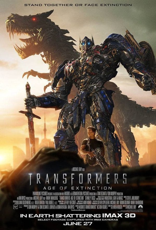 Optimus Prime Transformers: Age Of Extinction Poster