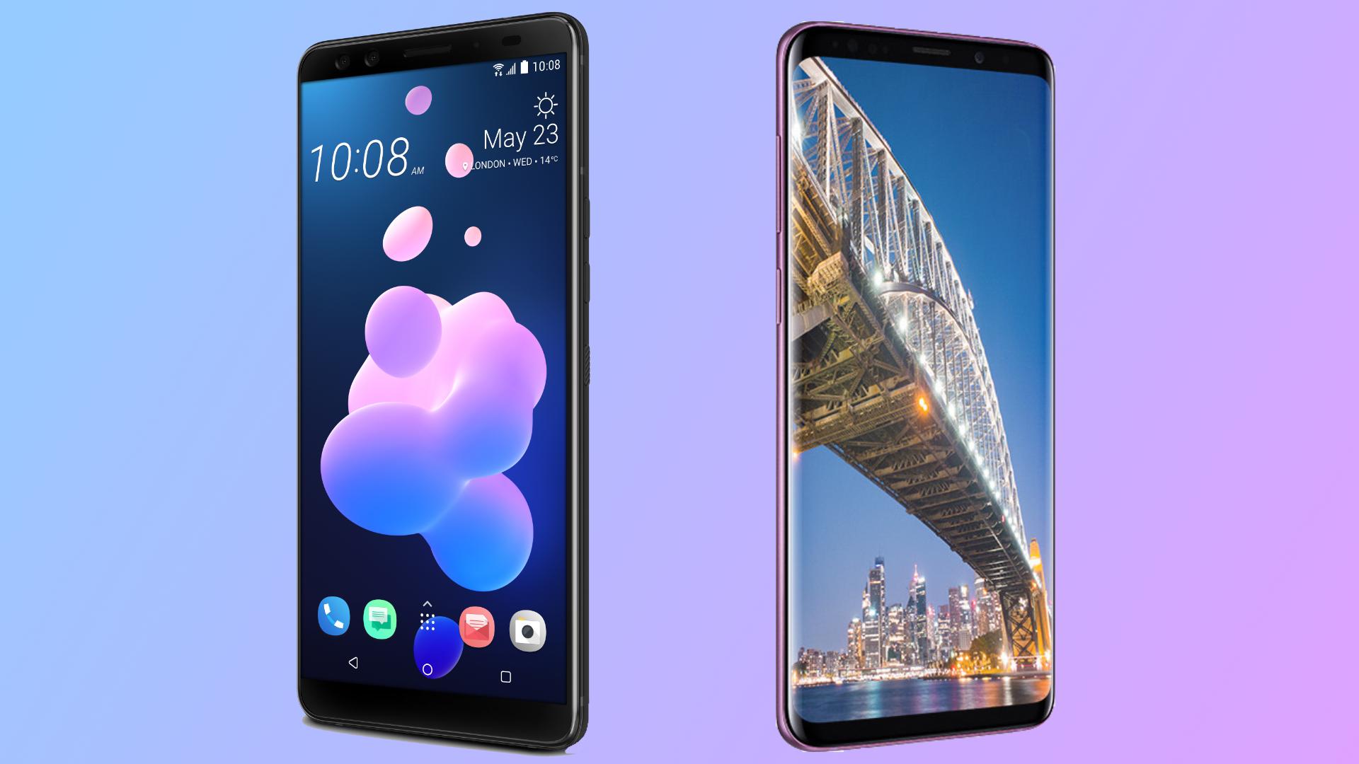 HTC U12 Plus vs Samsung Galaxy S9   TechRadar