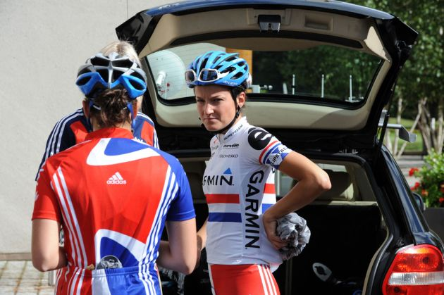 Lizzie Armitstead, London Surrey Cycle Classic training, Saturday August 13