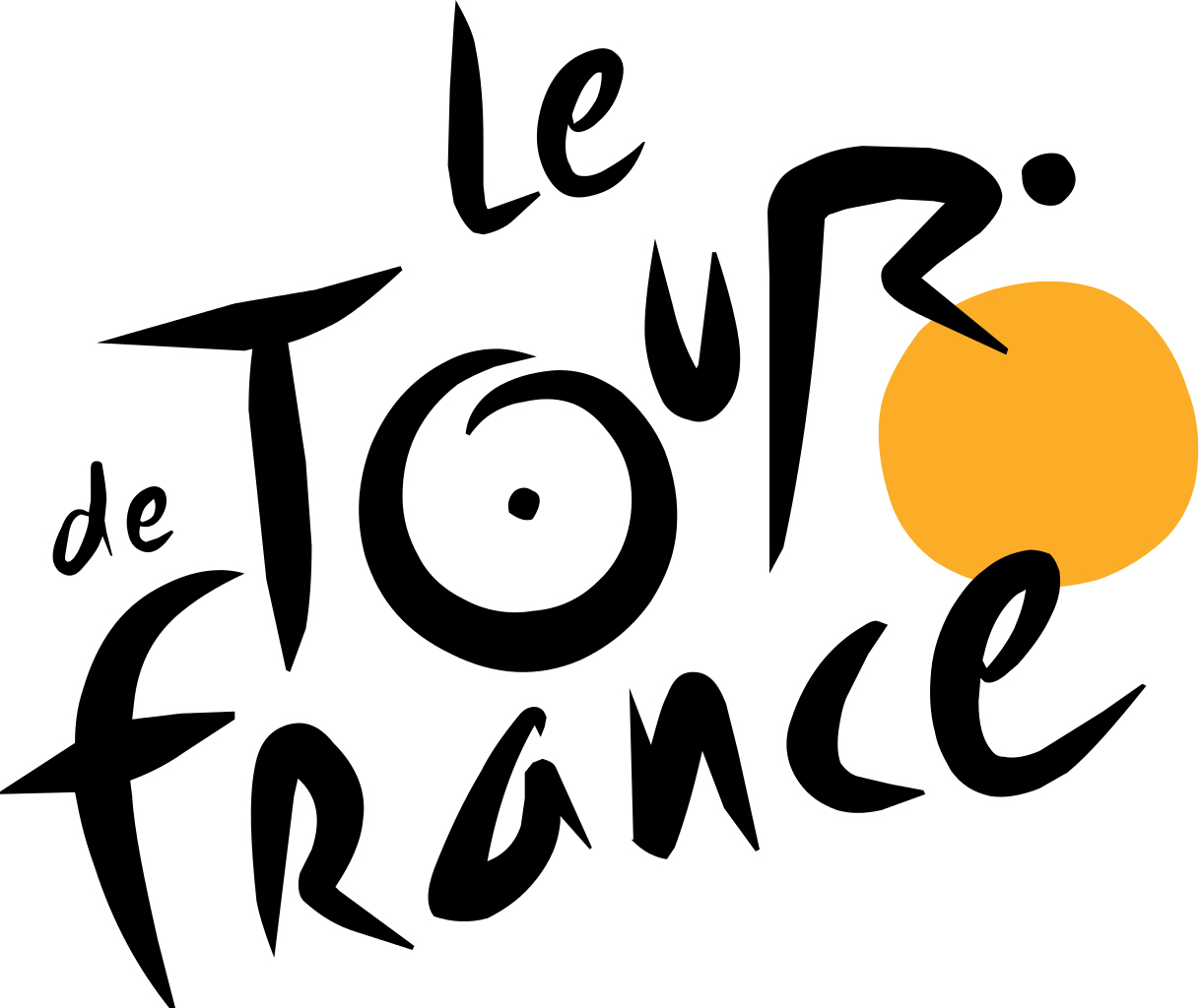the story of the tour de france logo creative bloq