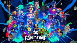 DC Fandome promo poster
