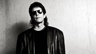 A photograph of Lou Reed in the 80s