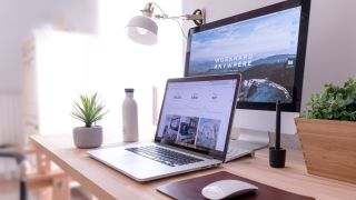 Best web hosting: MacBook on table