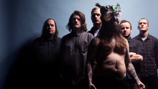 A promotional picture of Kvelertak