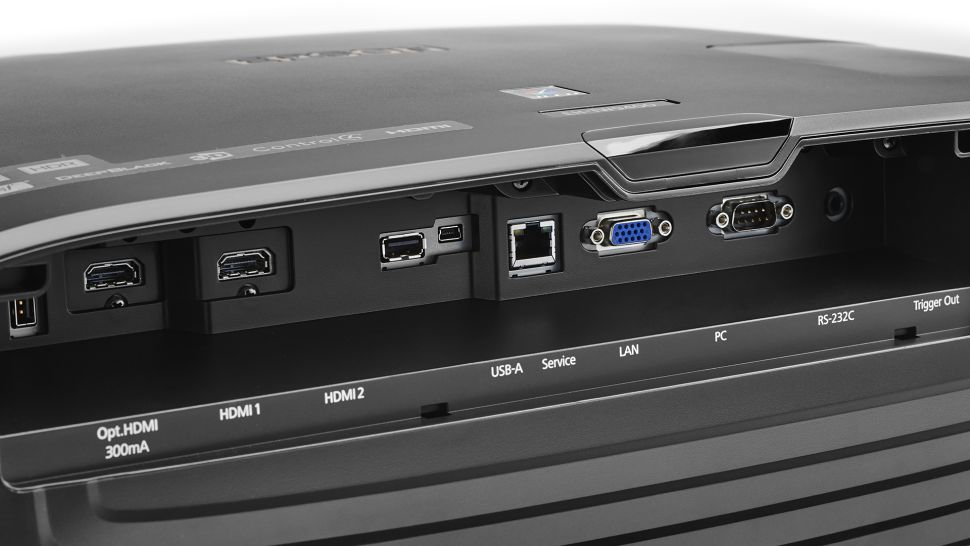 The backside ports on Epson EH-TW9400 / Pro Cinema 6050UB projector