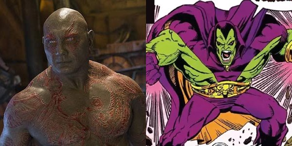 Drax's (Dave Bautista) comparisons to the Hulk make more sense when you look at his original comic b