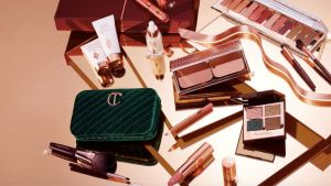 Charlotte Tilbury makeup illustrating the brand's best black friday deals