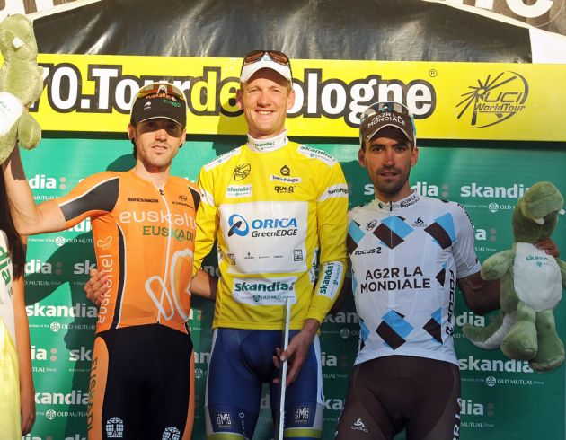 Pieter Weening tops final podium, Tour of Poland 2013, stage 7 TT