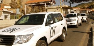 UN Inspectors searching Syria for chemical weapons