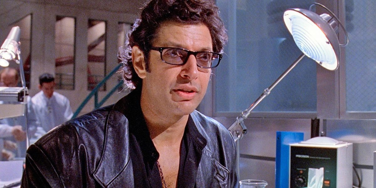 Jeff Goldblum as Dr. Ian Malcolm in Jurassic Park