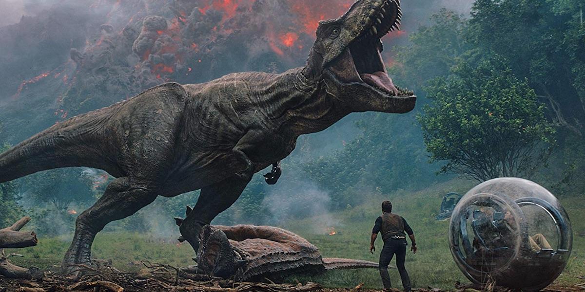The T-Rex in Jurassic Word: Fallen Kingdom