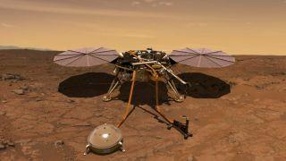InSight will be on 5 May 2018 | start at 04:05 PT PT Credit: NASA / JPL-CALTECH