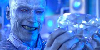 Arnold Schwarzenegger as Mr. Freeze in Batman & Robin