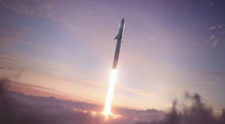 SpaceX will use its Starship and Super Heavy rocket to transport humans and cargo to and from Mars.