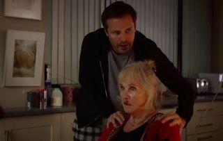 Ollie saves Lofty's Grandma in Holby City!
