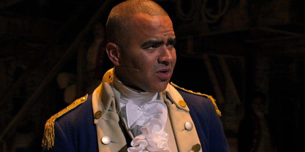 Christopher Jackson in Hamilton
