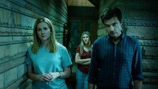 Laura Linney and Jason Bateman in Netflix's Ozark.