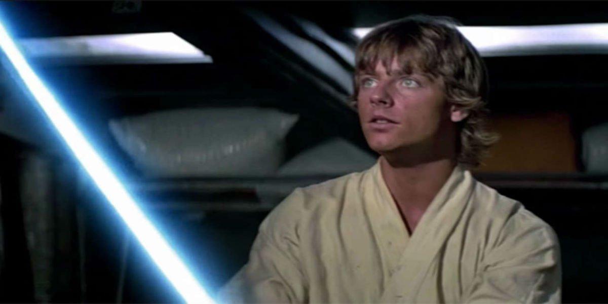 Luke Skywalker in Star Wars: A New Hope
