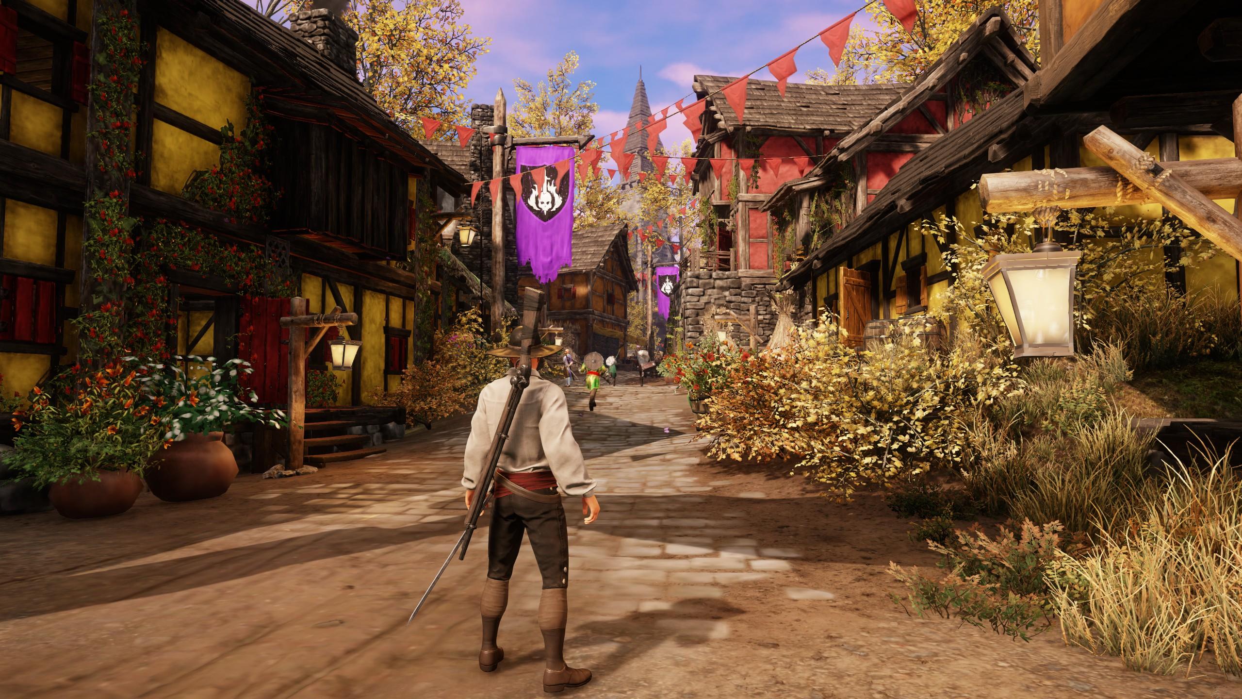 A New World town