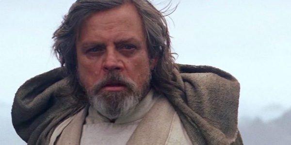 Mark Hamill as Luke Skywalker in Star Wars The Last Jedi