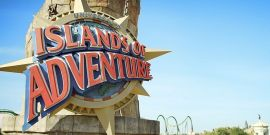 Fire Breaks Out At Universal Studios' Islands Of Adventure