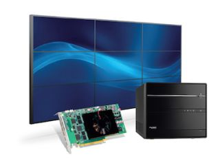 Matrox, Exxact Exhibit Shuttle Computer Group Single-Slot Graphics Card for 3x3 Video Walls at InfoComm