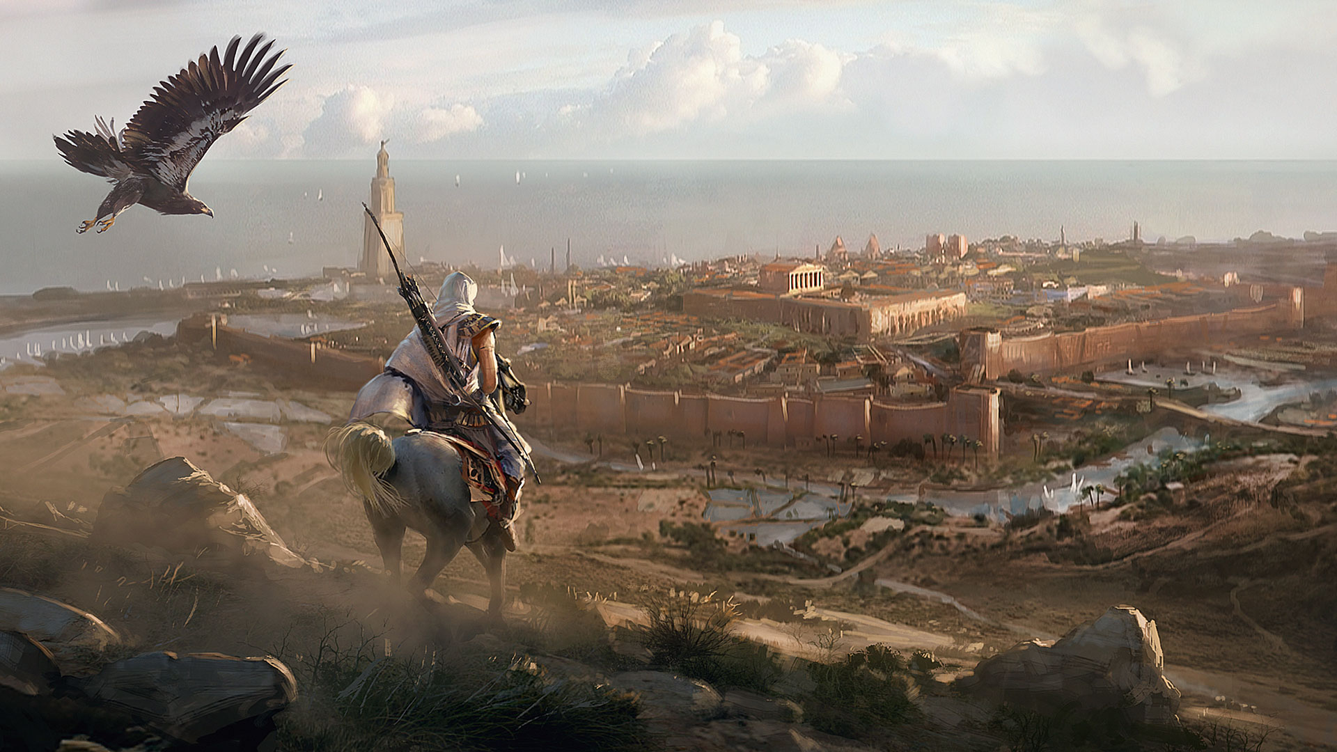 Behind The Scenes On The Art Of Assassins Creed Origins Creative