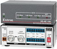 Extron Introduces New Audio Extractor