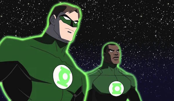 Green Lanterns Hal Jordan and John Stewart