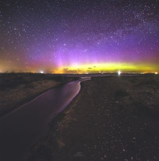 Northern Lights Over Denmark