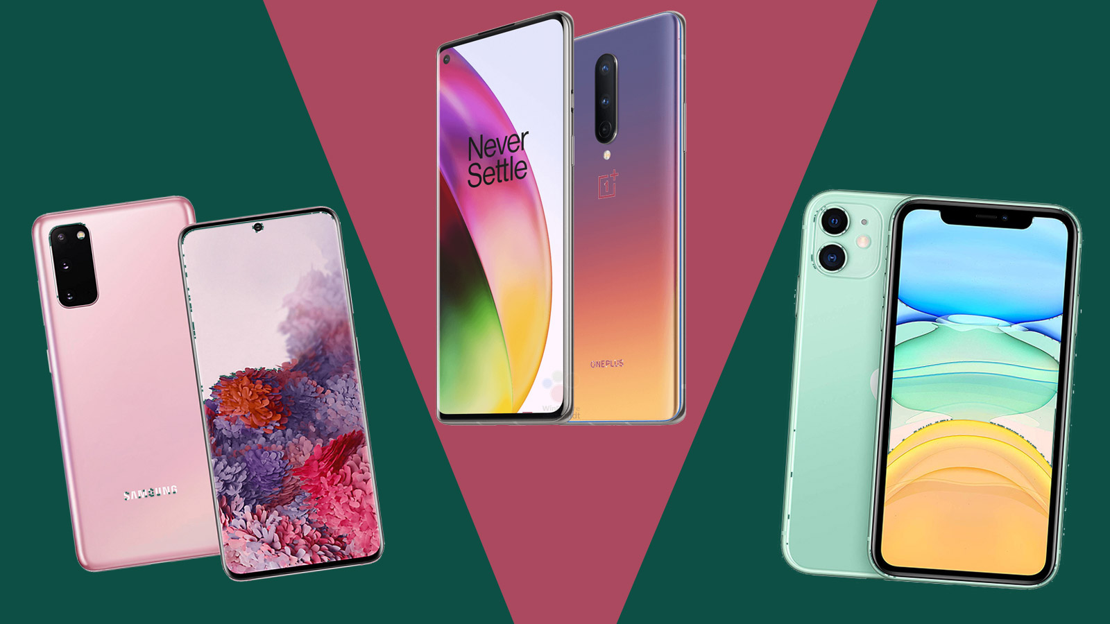 Oneplus 8 Vs Samsung Galaxy S20 Vs Iphone 11 We Evaluate The New Oneplus Phone Techradar
