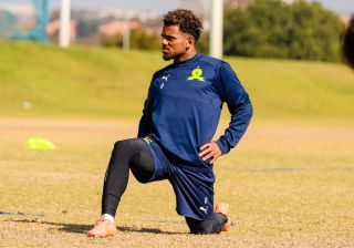 Mamelodi Sundowns striker Kermit Erasmus