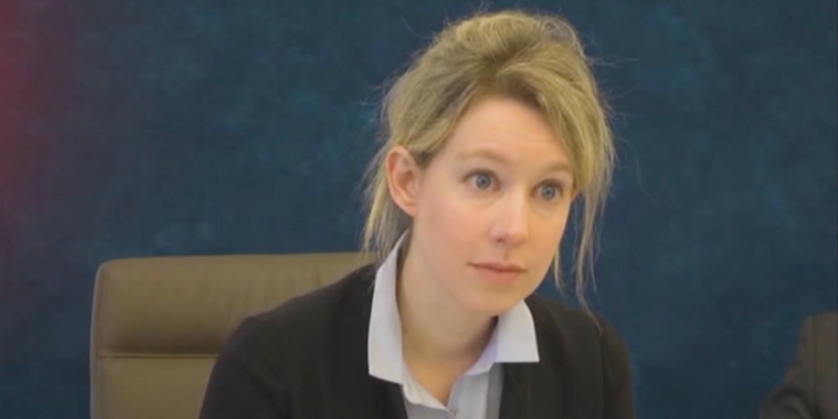 Elizabeth Holmes in The Dropout ABC Special