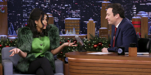 Cardi B will co-host The Tonight Show with Jimmy Fallon on April 9