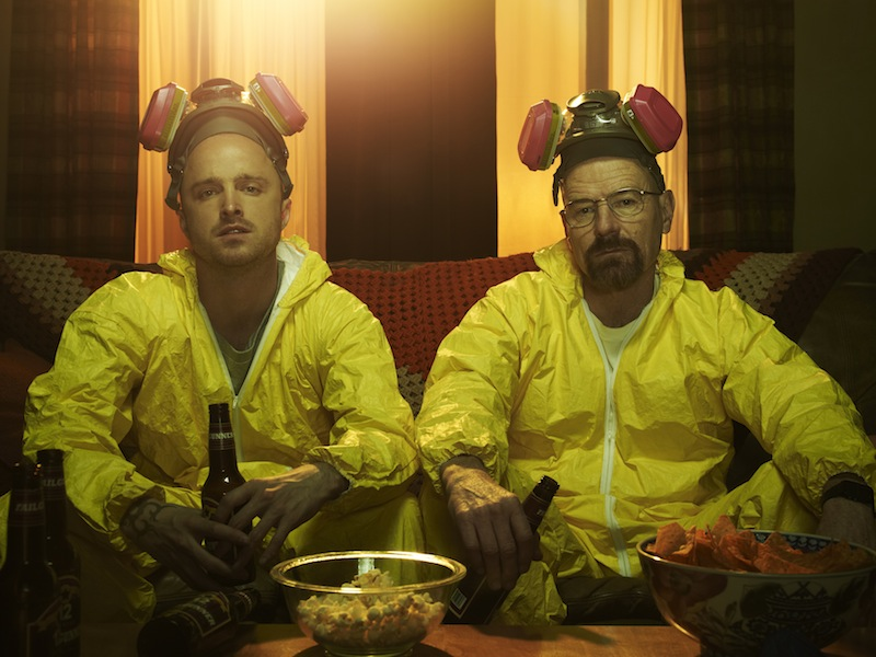 Breaking Bad Season 5 Photos Show The Cast And Walter White's Partner Relationships #22553